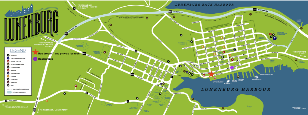 Lunenburg Map
